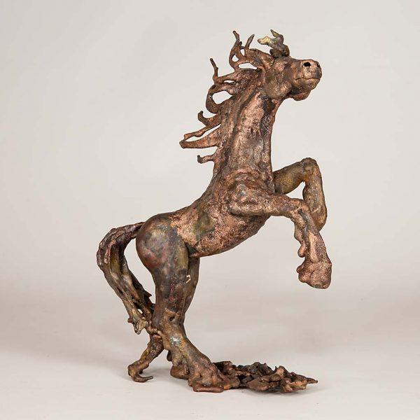 Pferd aus Kupfer | Britta Rösler | Kunsthandwerk im Artenreich-Shop